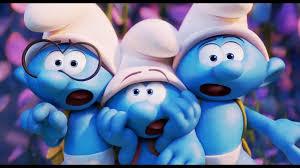 Smurfs celebram o dia Internacional da Felicidade