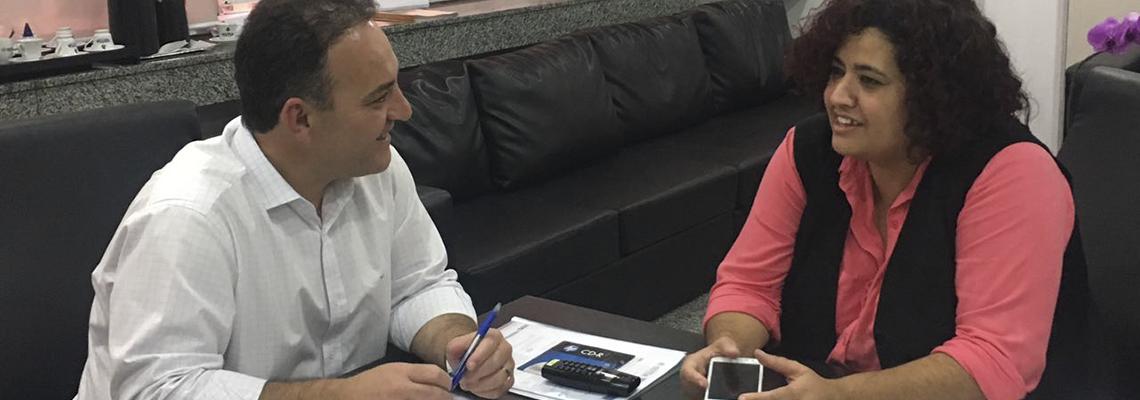 Prefeito Rogério Franco diz que imprensa e mulheres precisam ter mais iniciativa