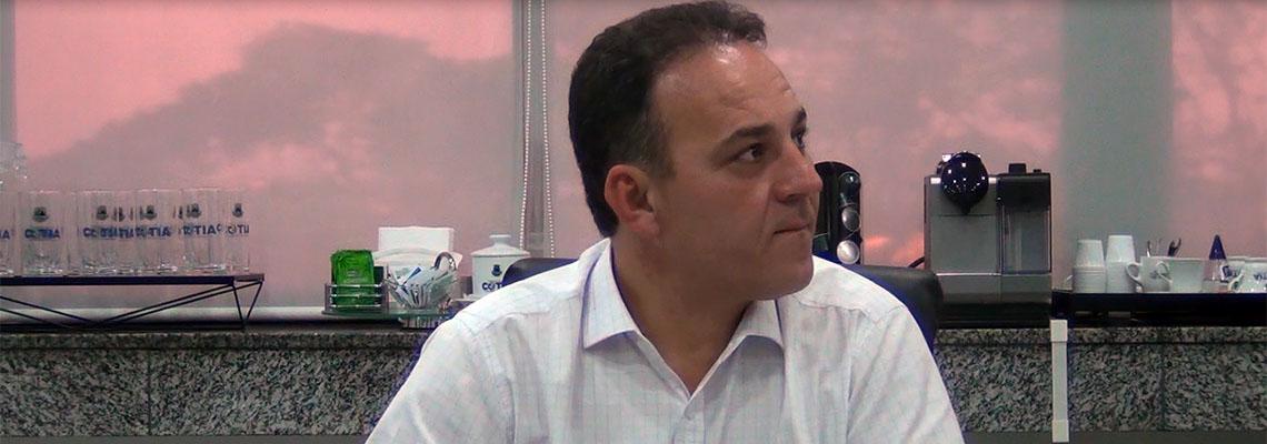 Rogério Franco diz que vai reabrir PA do Portão e quer voltar a discutir verticalização