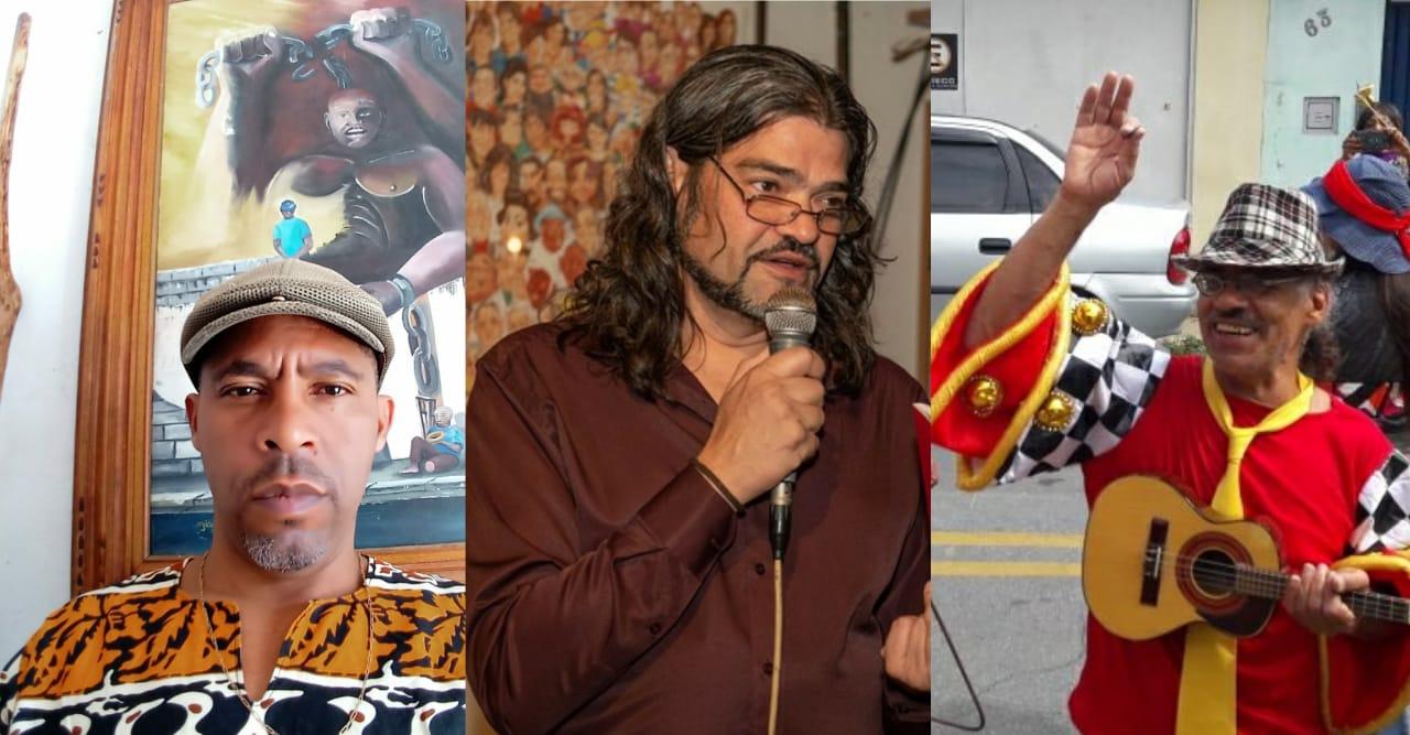Artista plástico, poeta e músico são as atrações do Sarau na Garagem desta sexta-feira