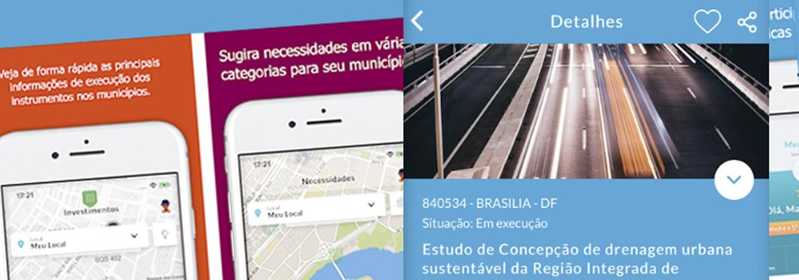 Aplicativo permite que cidadão fiscalize obras e serviços públicos