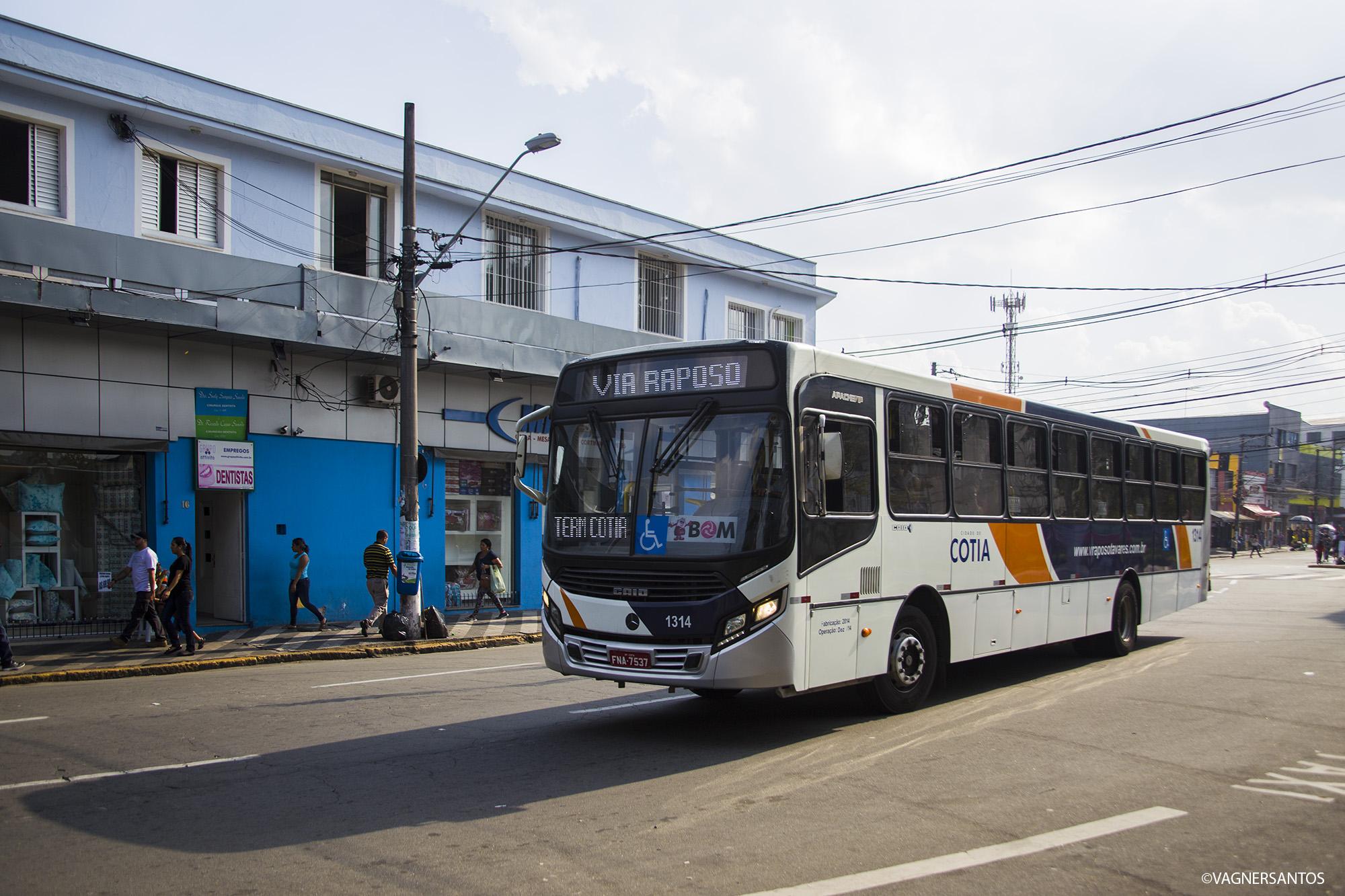 Cotia: prefeitura diz que oficiará empresa sobre linhas municipais de Caucaia