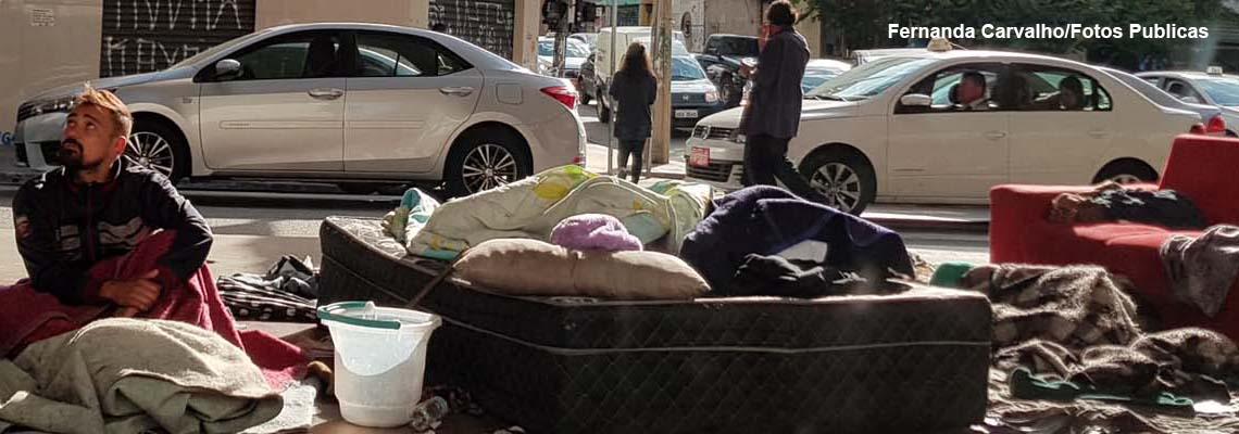 Coronovírus: direitos de moradores de rua devem ser preservados