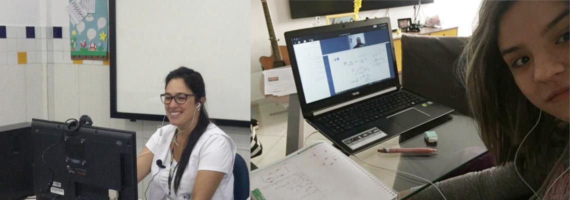 Escola de Cotia cria plataforma exclusiva para aulas remotas