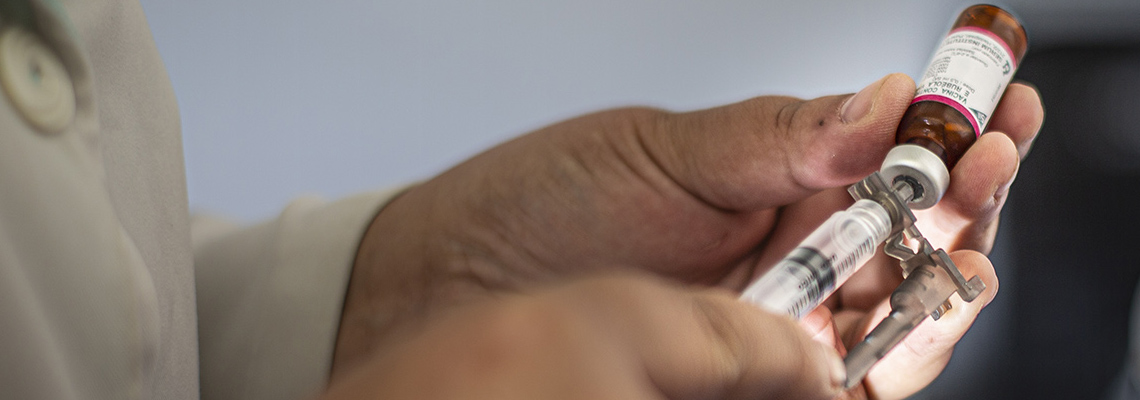 Apenas 50% do público alvo se imunuzou contra gripe em Cotia