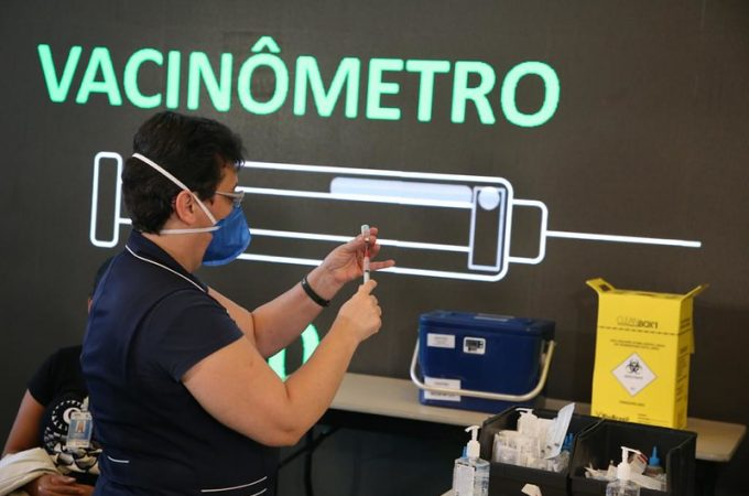 """SP lança """"Vacinômetro"""" que permite acompanhar em tempo real número de vacinados"""